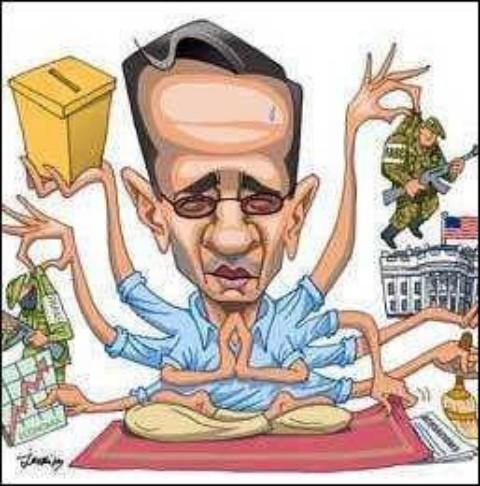 Resultado de imagen para Caricaturas de Alvaro Uribe