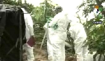 Las autoridades estiman que por lo menos 20 cadáveres serán hallados en la fosa común de Cúcuta. (Foto: teleSUR)