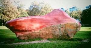Piedra kueka, del pueblo pemón.
