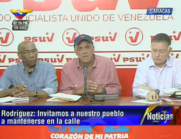 Rueda de prensa/ VTV