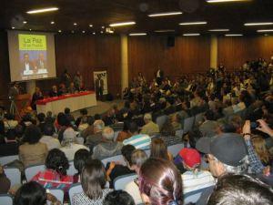 Acto de lanzamiento del libro de Carlos Lozano, La Paz si es posible.