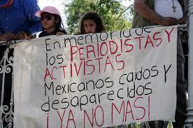 periodistas mexicanos desaparecidos