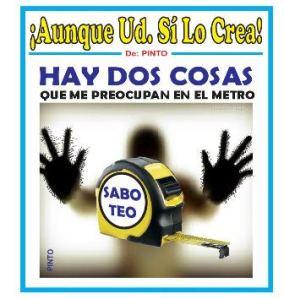 AUNQUE UD. SABOTEO