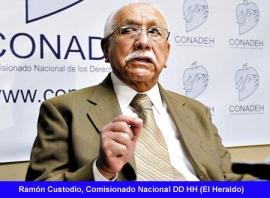 Ramon Custodio DDHH Honduras