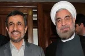 Mahmoud Ahmadinejad trató temas de política y economía con Hassan Rowhani (Foto: Archivo)