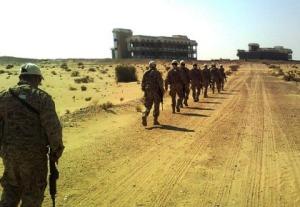 Exmilitares colombianos en los Emiratos Árabes Unidos. Sus misiones en ese país incluyen labores de patrullaje y escuadrones antimotines.