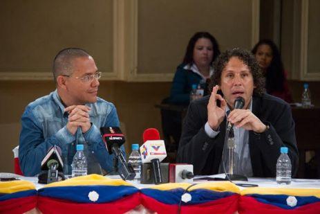 Ernesto Villegas y Francisco Garcés