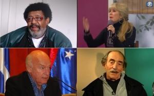 Ruben Rada, Eduardo Galeano, Cristina Fernández, Walter Reyno