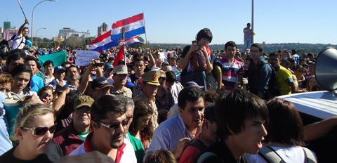Paraguay marcha