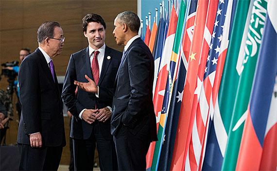 Trudeau-Obama