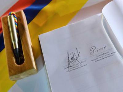 La firma del Acuerdo Final de La Habana está vigente.