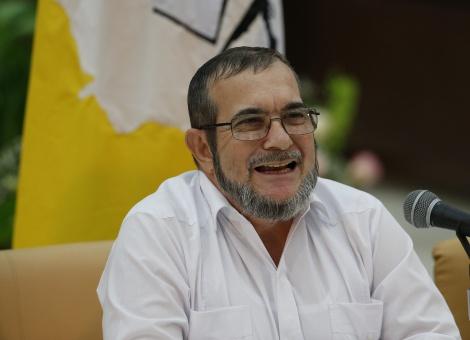 El Gobierno indicó que aún no hay una fecha definida para el encuentro con el jefe de la insurgencia. | Foto: EFE