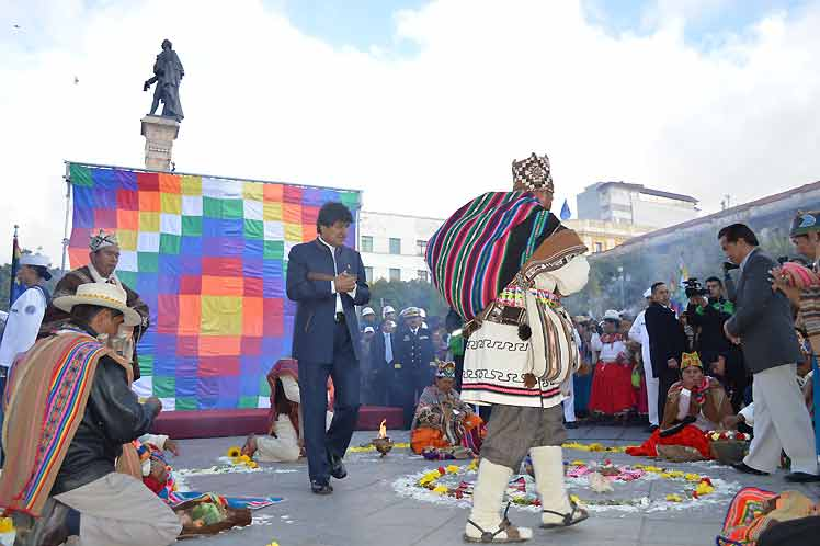 Acto-Bolivia
