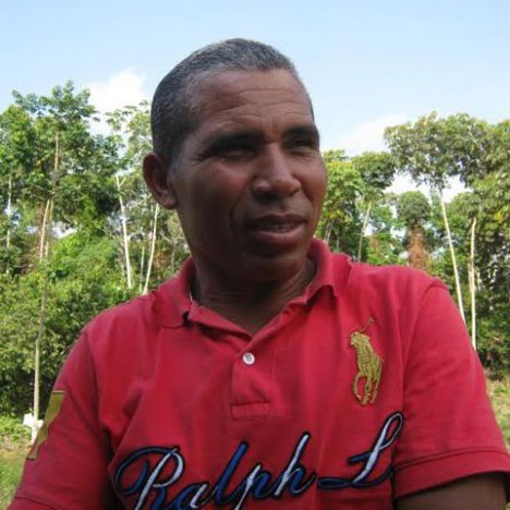 Luis Carlos Herrera, presidente de la Asociación Campesina del Alto Sinú –ASODECAS-