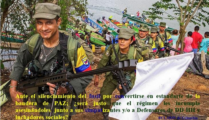 DEJACION Y ENTREGA ARMAS