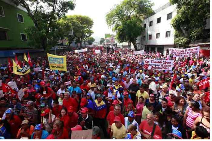 venezuela-marcha-rojo