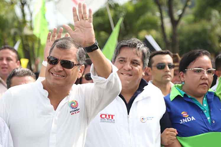 Ecuador-Correa-marcha